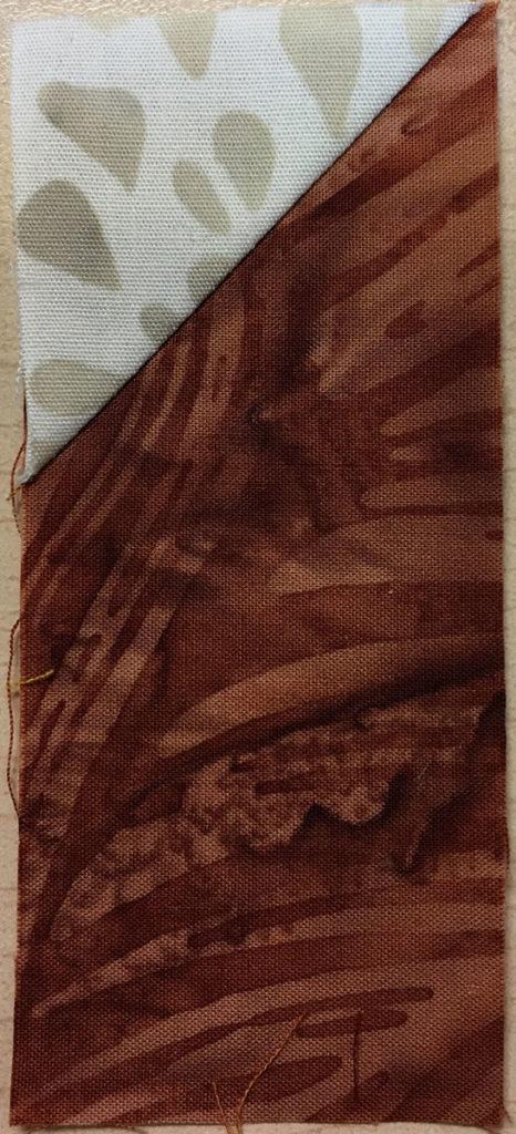 Photo 8 of the Stitch-and-Flip method (Unit 5)