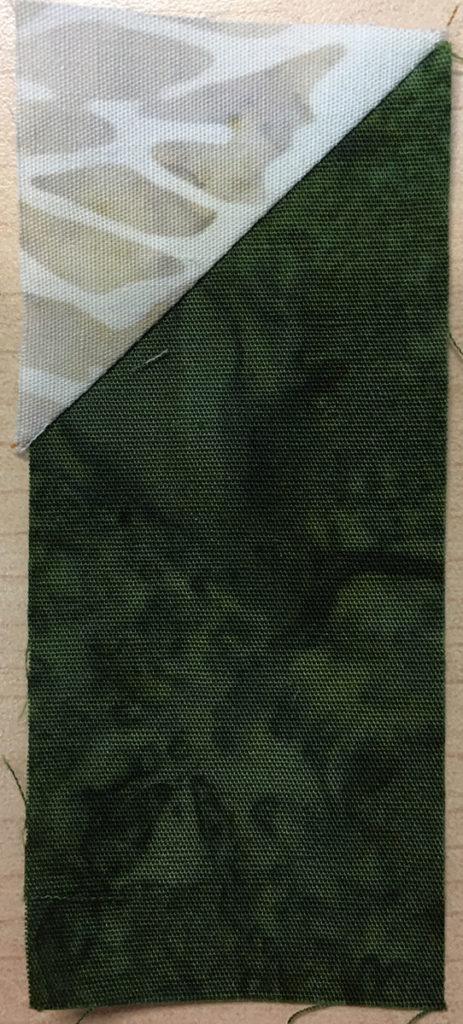 Photo 9 of the Stitch-and-Flip method (Unit 6)