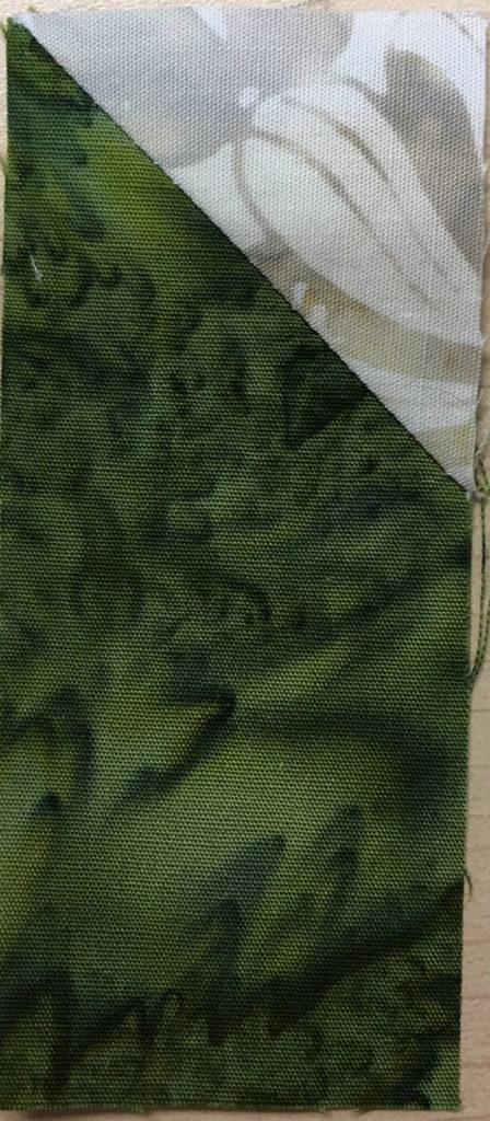 Photo 10 of the Stitch-and-Flip method (Unit 7)