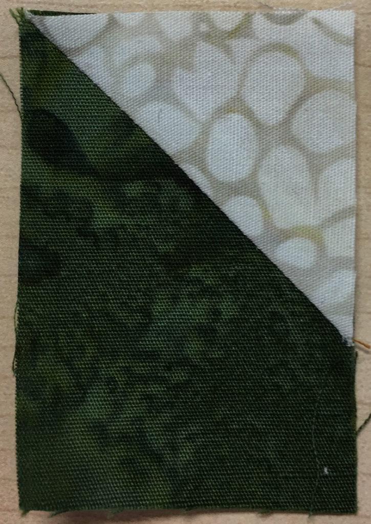 Photo 11 of the Stitch-and-Flip method (Unit 8)
