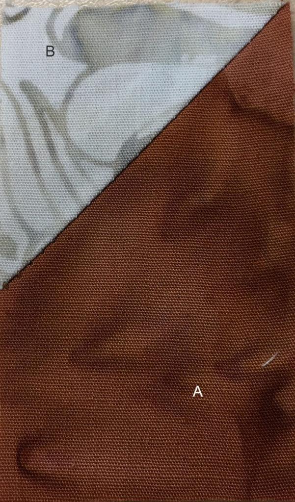 Photo 5 of the Stitch-and-Flip method (Unit 2)