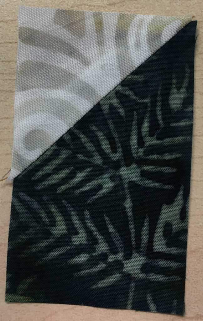 Photo 7 of the Stitch-and-Flip method (Unit 4)