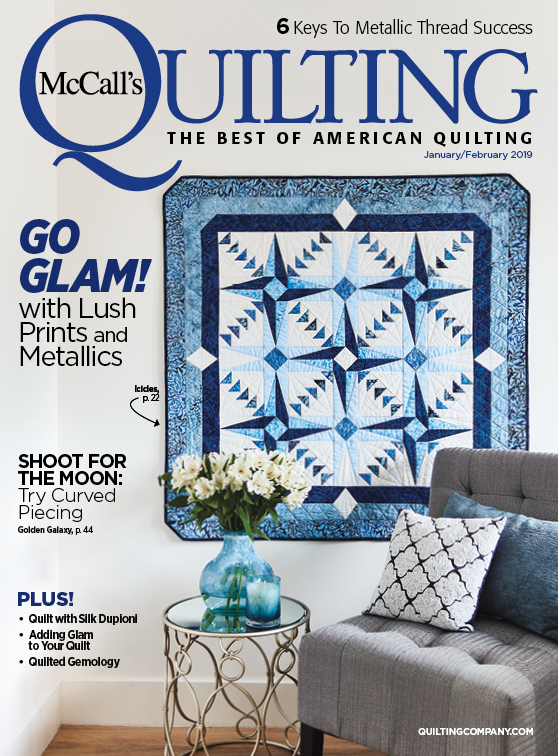McCall's Quilting January/February 2019