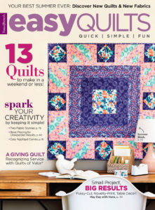Easy Quilts Summer 2018