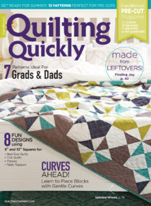 Quilting Quickly May/June 2018