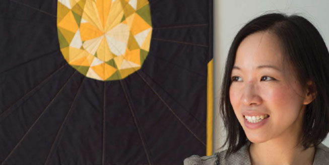 In this issue of Modern Patchwork meet up and coming designer Andrea Tsang Jackson