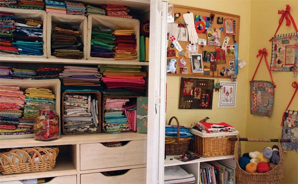 A peek inside Vivika's studio.