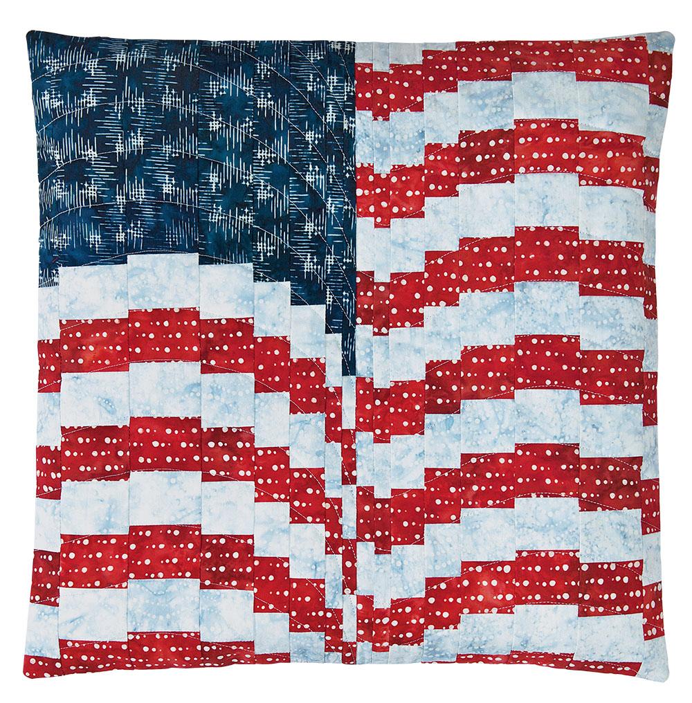 """Firework Flag"" by Gigi Khalsa"