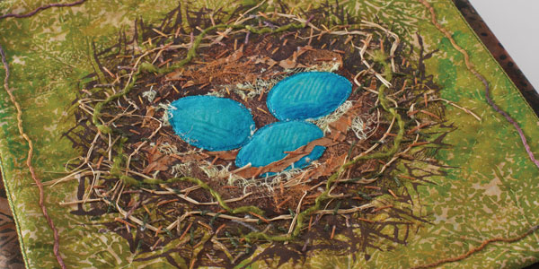 """Nest"" (detail) by Sarah Ann Smith. Photo courtesy of the artist."