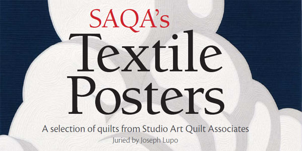 "The art quilt ""Shiprock"" (detail) by Cat Larrea."