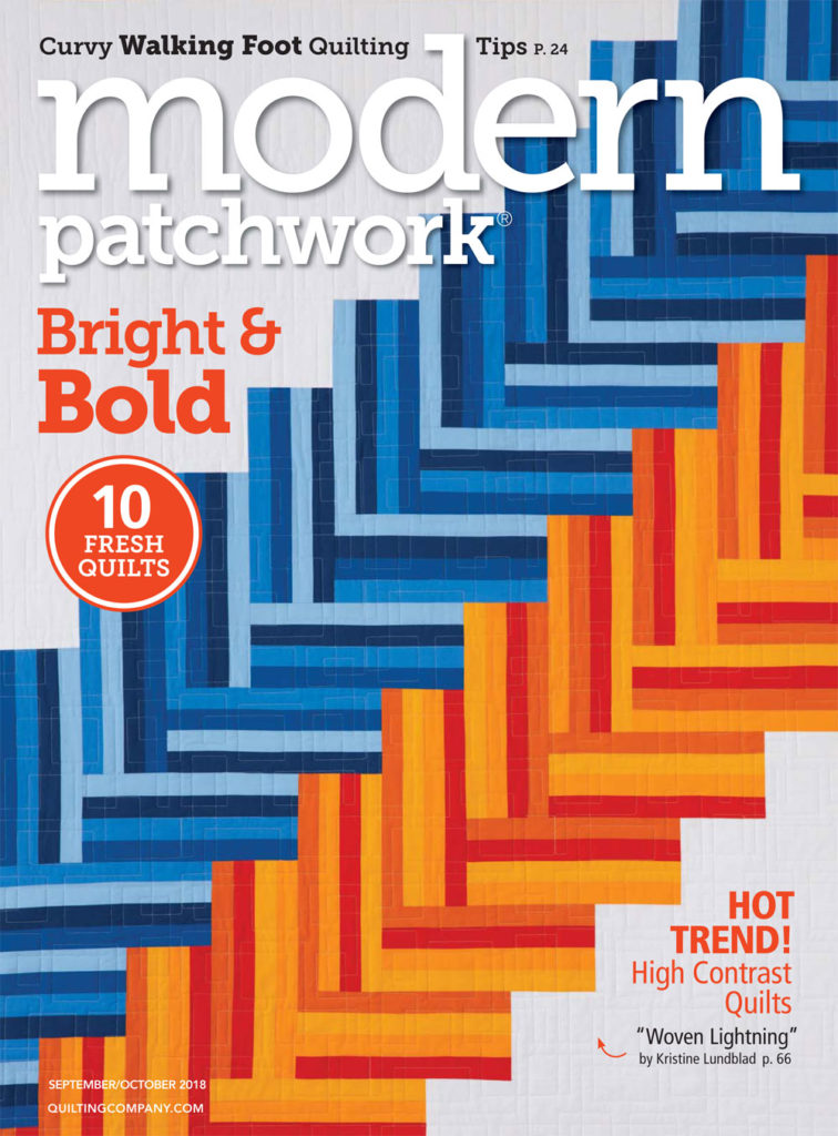 Cover of Modern Patchwork September/October 2018